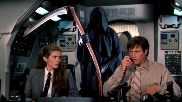 Кадр из фильма Аэроплан-2. Сколько нужно уверенности, чтобы посадить самолёт?