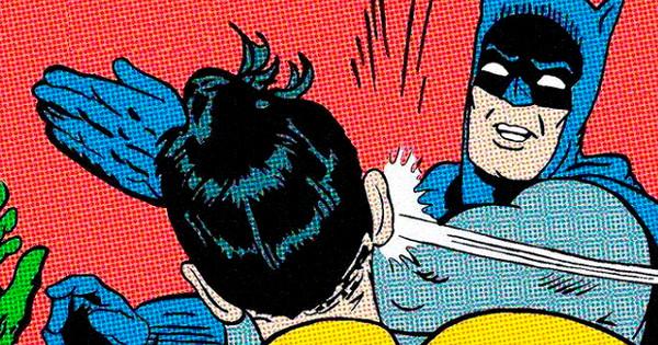 Бэтмен и Робин мем