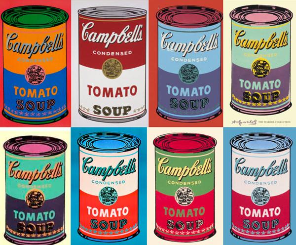 Энди Уорхолл. Банки супа Campbell's