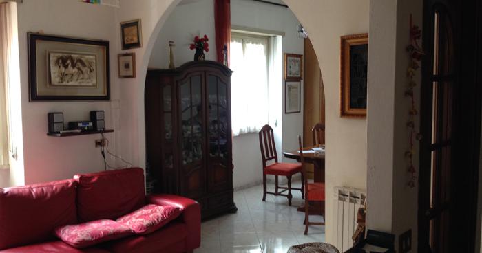 Квартира в Риме, которая нам очень понравилась.